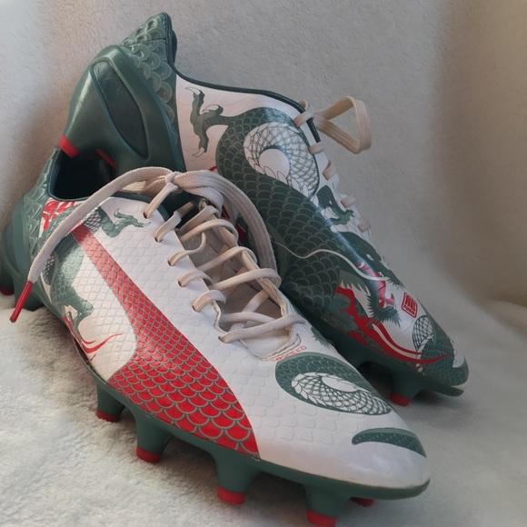 e35869b66328 Puma EvoSpeed Dragon soccer cleats. M 5ae4d25036b9deacbfeb6310